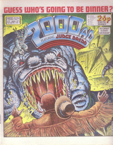 2000AD cover